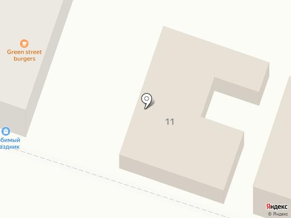 Афины на карте Кисловодска