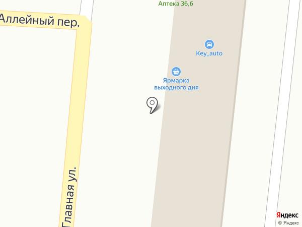 Ривьера на карте Кисловодска