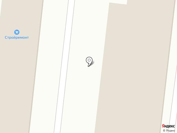 Дачник на карте Кисловодска