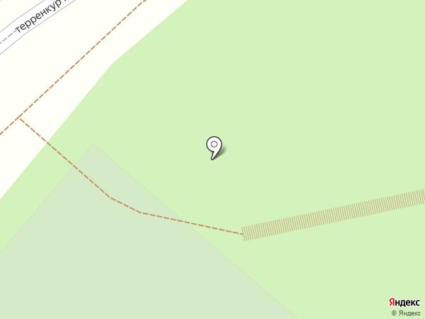 Ветерок на карте Кисловодска
