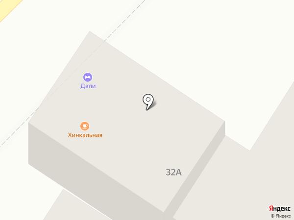 Дали на карте Кисловодска