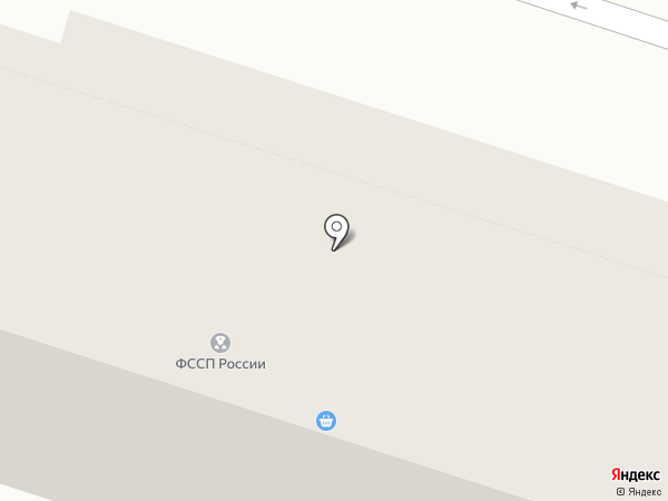 Отдел службы судебных приставов г. Кисловодска на карте Кисловодска