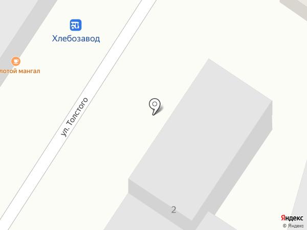 Ангара на карте Кисловодска
