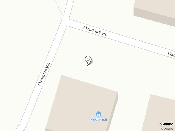 Продуктовый магазин на карте Кисловодска