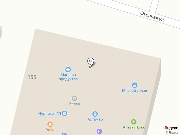 Ритм на карте Кисловодска