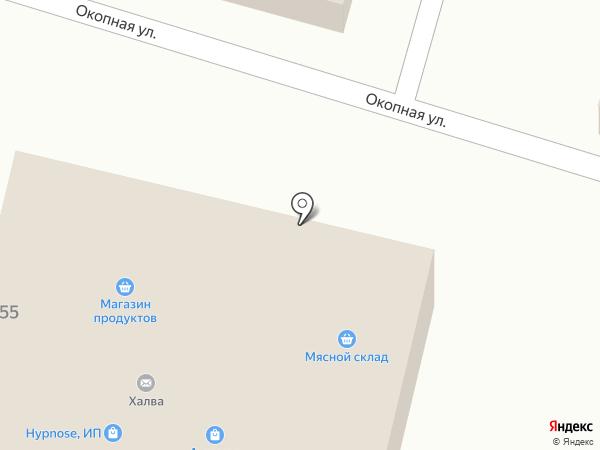 Магазин нижнего белья и трикотажных изделий на карте Кисловодска