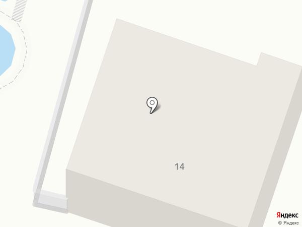 Кисловодский на карте Кисловодска
