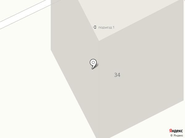 Жемчужина-КМВ на карте Кисловодска