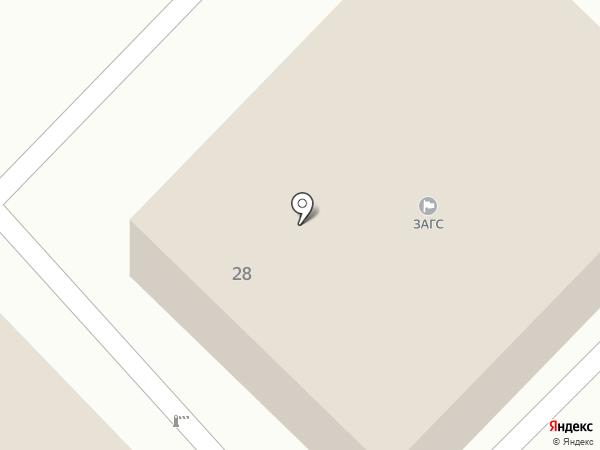 ЗАГС г. Кисловодска на карте Кисловодска