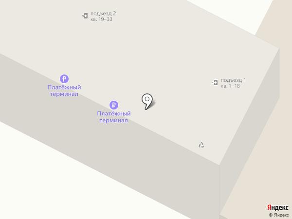Родник на карте Кисловодска