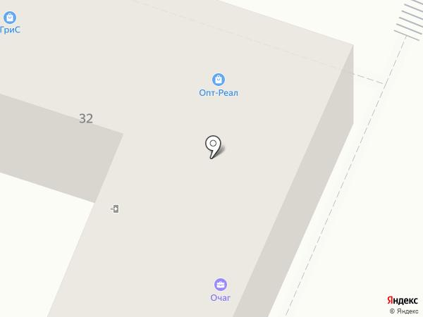 ВАРОС на карте Кисловодска