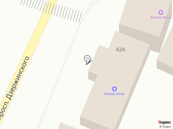 Ротос на карте Кисловодска