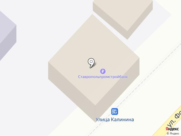 StreeЖ на карте Кисловодска