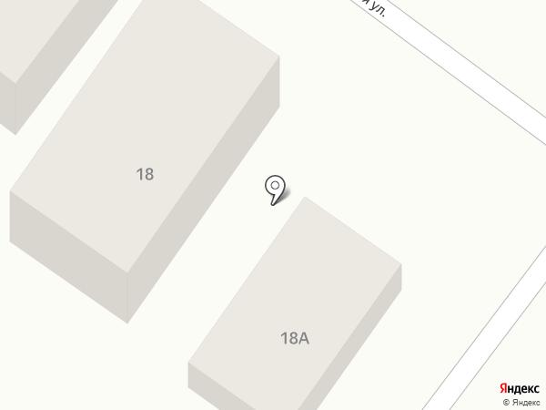 Магазин мяса и птицы на карте Кисловодска