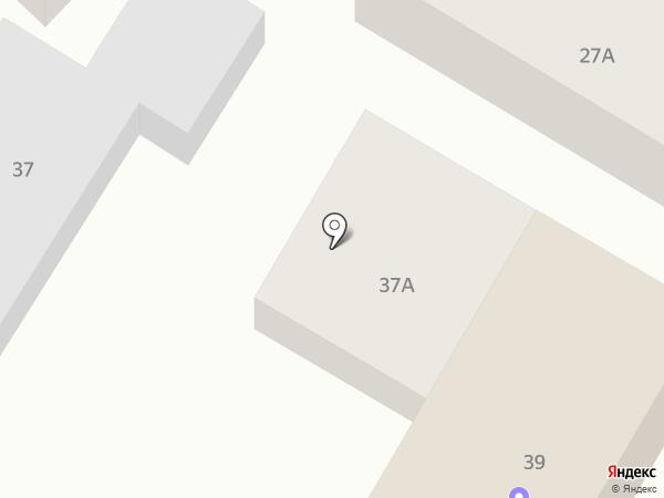 Предгорное на карте Кисловодска