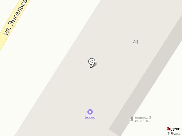 Двери и камень на карте Кисловодска