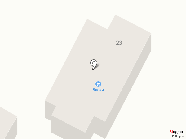 СтройБлокКМВ на карте Кисловодска