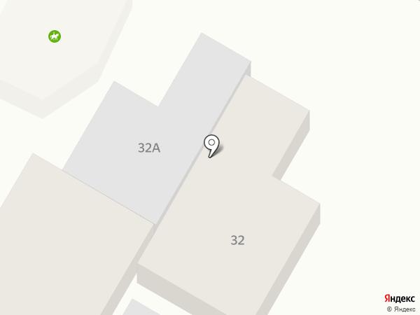 Дубль на карте Кисловодска