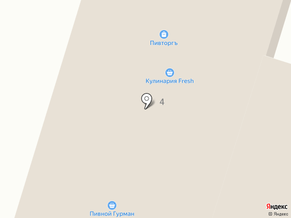 Оранж на карте Кисловодска