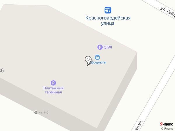 ГИК на карте Кисловодска