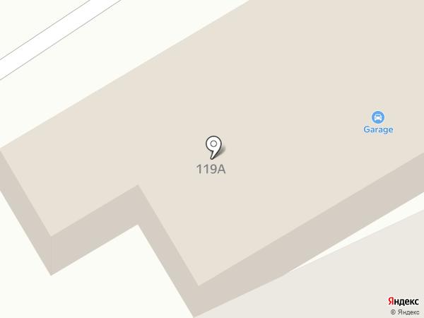 Garage на карте Ессентуков