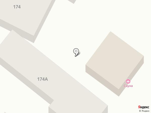 Сауна 24 часа на карте Ессентуков