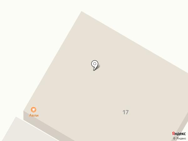 Авли на карте Ессентуков