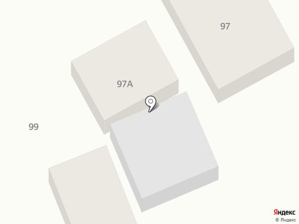 Русалочка на карте Ессентуков