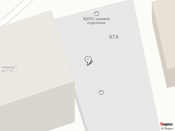 ВДПО на карте Ессентуков