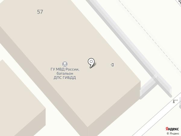 Специализированный батальон ДПС ГИБДД Главного управления МВД России по Ставропольскому краю на карте Ессентуков