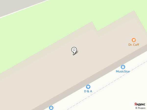 Канцпарк на карте Ессентуков