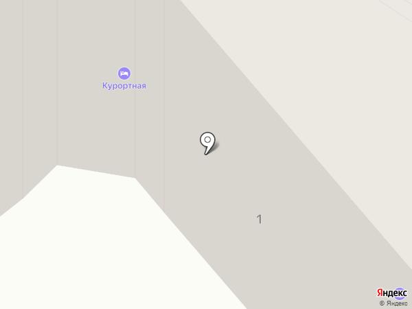 Санта-КВС на карте Ессентуков