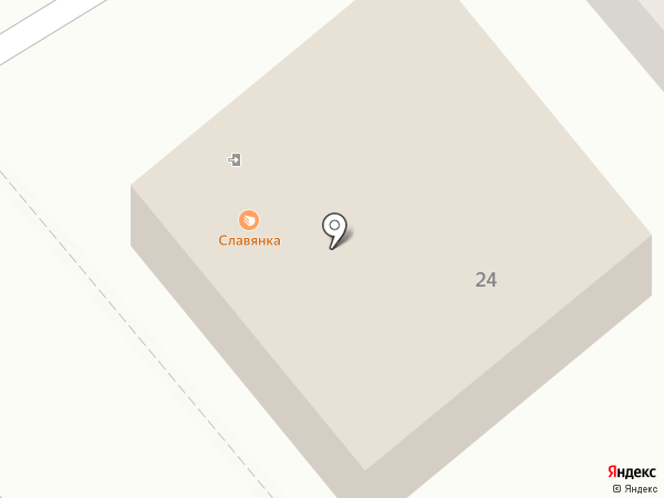 Славянка на карте Ессентуков