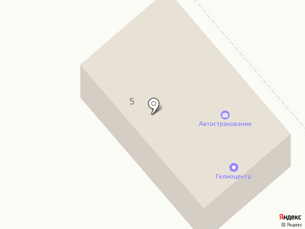 Феникс на карте Ессентуков