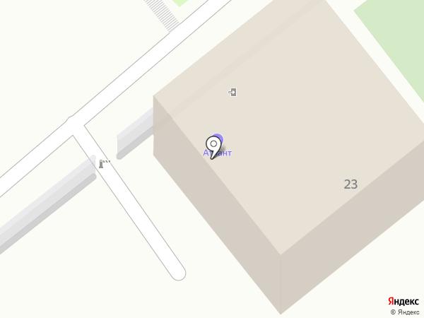 Атлант на карте Ессентуков