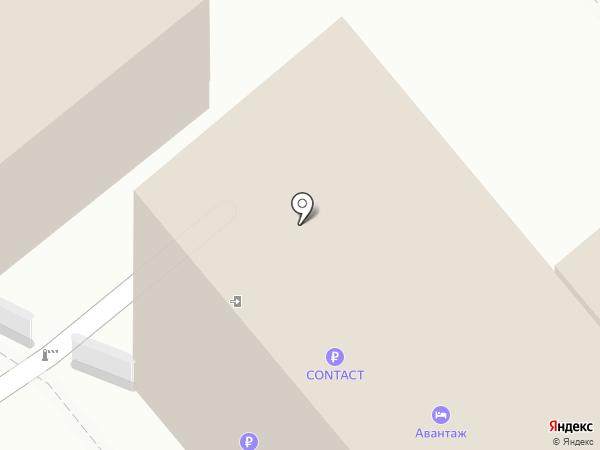 Авантаж на карте Ессентуков