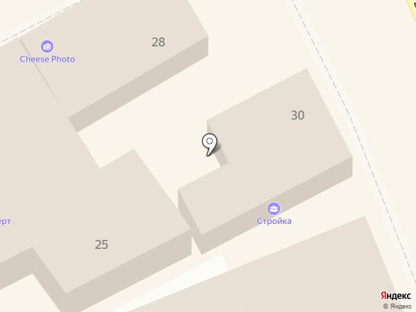 Омега на карте Ессентуков