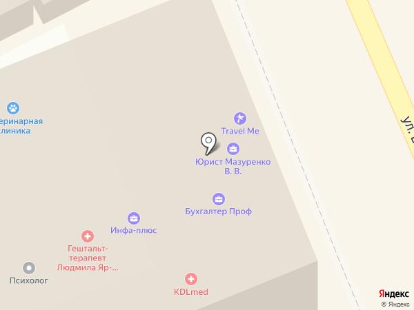 Центр страхования на карте Ессентуков