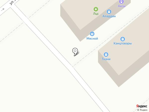 Магазин тканей и фурнитуры на карте Ессентуков