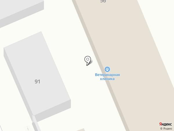 Ветеринарная клиника на карте Ессентуков