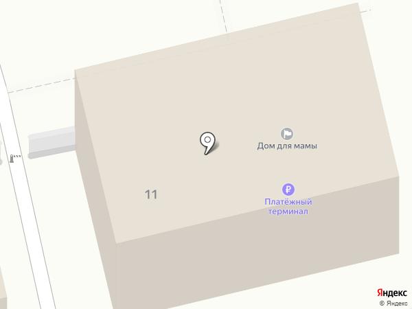 Дом мамы на карте Ессентуков