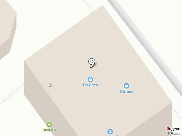 Мелодия Здоровья на карте Ессентуков
