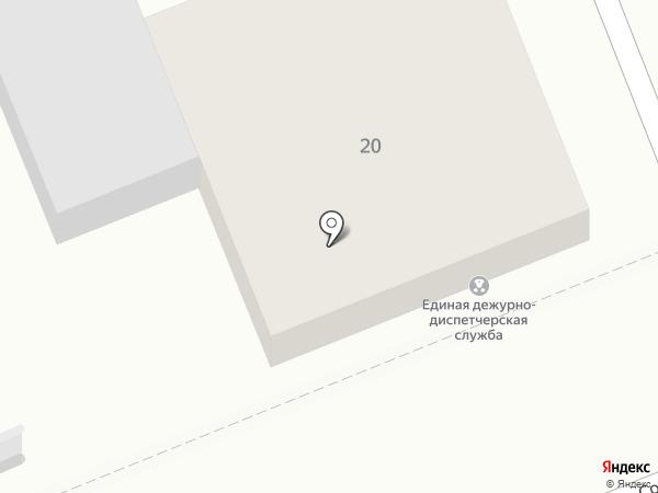 Управление по делам ГО и ЧС г. Ессентуки на карте Ессентуков