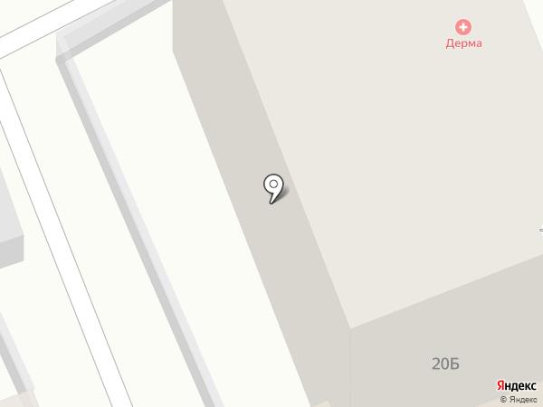 Эссен Клиник на карте Ессентуков