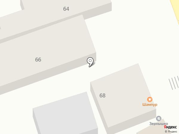 Яна на карте Ессентуков