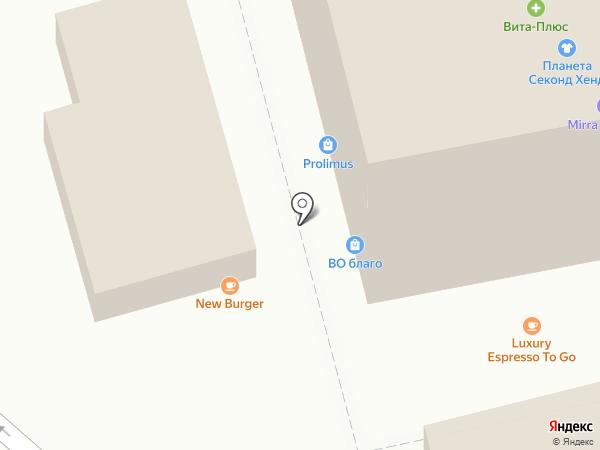 Аква-Фарм на карте Ессентуков