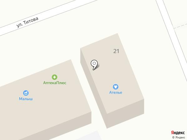 Двери Эконом на карте Ессентуков