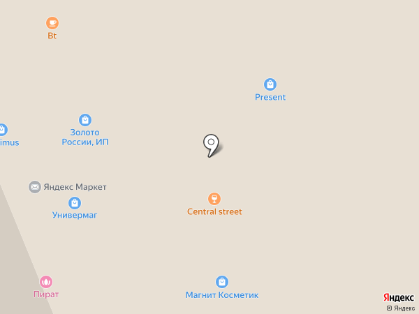 Универмаг на карте Ессентуков
