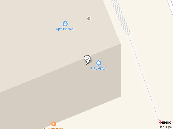 Изумруд на карте Ессентуков