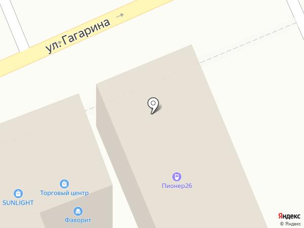 Пионер на карте Ессентуков